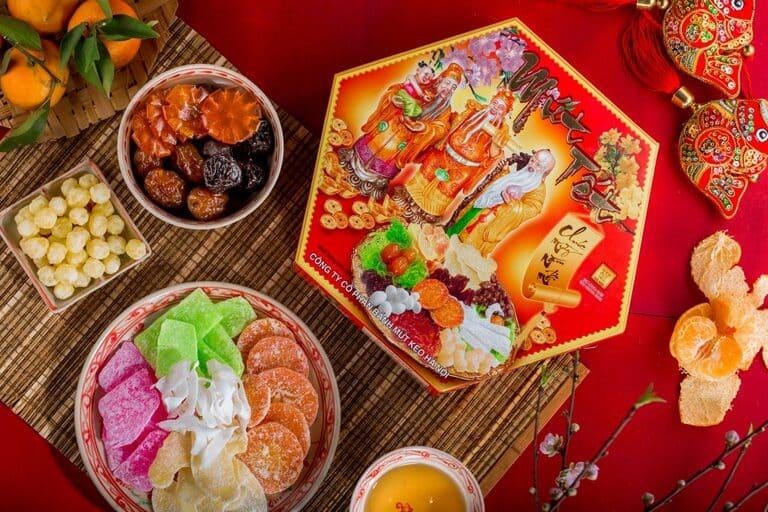 Mứt tết món ăn truyền thống mỗi dịp xuân về