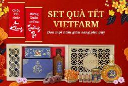 [HOT] Đông trùng hạ thảo Vietfarm ra mắt các set quà tặng thượng lưu mùa Tết Tân Sửu 2021 dẫn đầu xu hướng thập niên mới