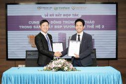 Lễ ký kết hợp tác cung ứng Đông trùng hạ thảo trong sản xuất bộ sản phẩm Vương Phi thế hệ 2 với Trung tâm Da liễu Đông Y Việt Nam